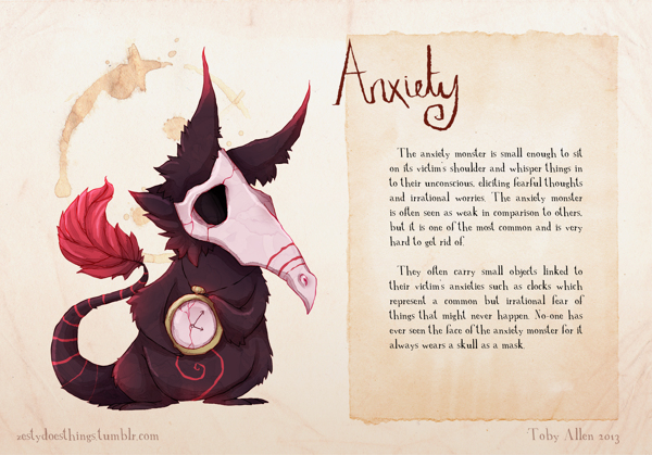 Monstros Reais- Anxiety