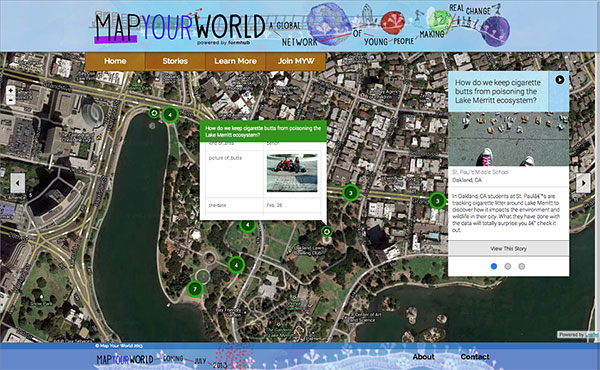Map your world 3