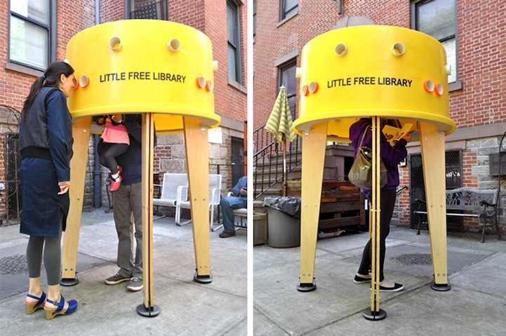 Pop Up Library NY 2